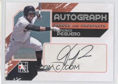 2010-11 In the Game Heroes and Prospects Autograph In Action Silver [Autographed] #A-FP - Francisco Peguero