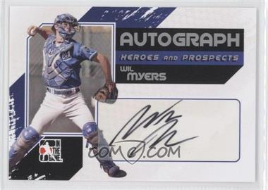2010-11 In the Game Heroes and Prospects Autograph In Action Silver [Autographed] #A-WMY - Wil Myers