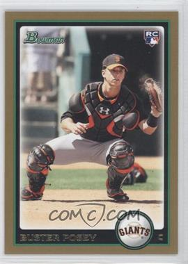 2010 Bowman - [Base] - Gold #208 - Buster Posey