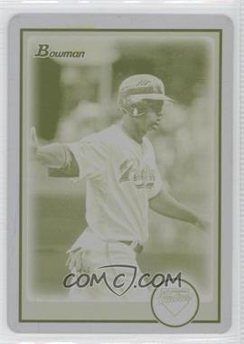 2010 Bowman - [Base] - Printing Plate Yellow #4 - Will Venable /1