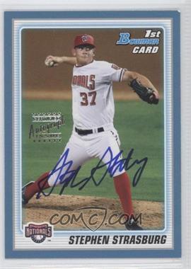 2010 Bowman - Prospects - Blue #BP1 - Stephen Strasburg (Autographed) /250
