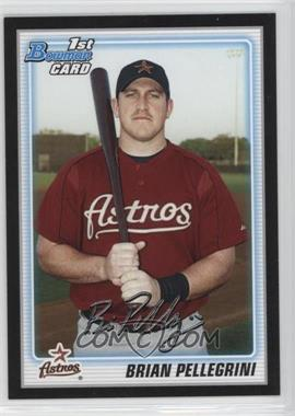 2010 Bowman - Wrapper Redemption Prospects - Black #BP65 - Brian Pellegrini
