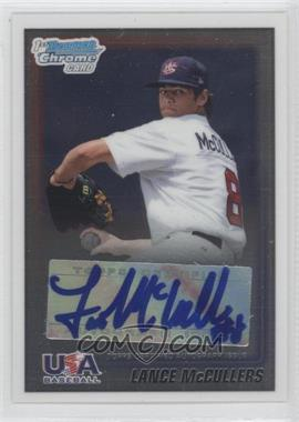 2010 Bowman - Wrapper Redemption USA Certified Autographs #WR18 - Lance McCullers /99