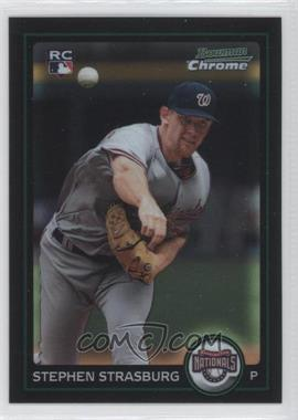 2010 Bowman Chrome - [Base] #205 - Stephen Strasburg