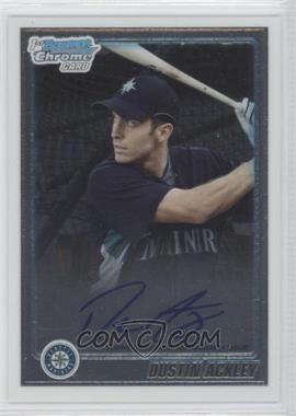 2010 Bowman Chrome - Prospects - Autographs [Autographed] #BCP89 - Dustin Ackley