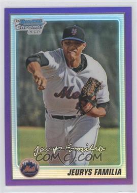 2010 Bowman Chrome - Prospects - Purple Refractor #BCP197 - Jeurys Familia /899
