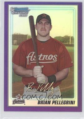 2010 Bowman Chrome - Prospects - Purple Refractor #BCP65 - Brian Pellegrini /999