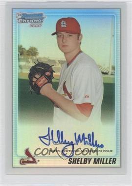 2010 Bowman Chrome - Prospects - Refractor Autographs [Autographed] #BCP204 - Shelby Miller /500