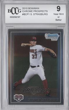 2010 Bowman Chrome - Prospects #BCP1 - Stephen Strasburg [ENCASED]