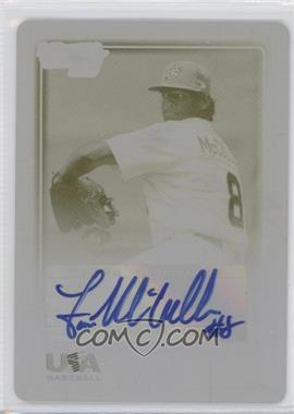 2010 Bowman Chrome - USA Stars - Printing Plate Yellow Autographs [Autographed] #USA-10 - Lance McCullers /1
