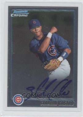 2010 Bowman Chrome Prospects Autographs [Autographed] #BCP100 - Starlin Castro