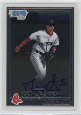 2010 Bowman Chrome Prospects Autographs [Autographed] #BCP108 - Jose Iglesias