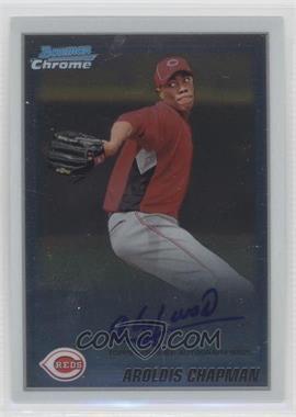 2010 Bowman Chrome Prospects Autographs [Autographed] #BCP199 - Aroldis Chapman