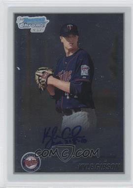 2010 Bowman Chrome Prospects Autographs [Autographed] #BCP202 - Kyle Gibson