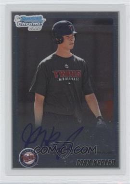 2010 Bowman Chrome Prospects Autographs [Autographed] #BCP203 - Max Kepler