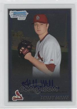 2010 Bowman Chrome Prospects Autographs [Autographed] #BCP204 - Shelby Miller
