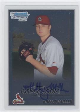 2010 Bowman Chrome Prospects Autographs [Autographed] #BCP204 - Shelby Miller