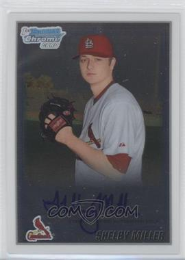 2010 Bowman Chrome Prospects Autographs [Autographed] #BCP204.2 - Shelby Miller