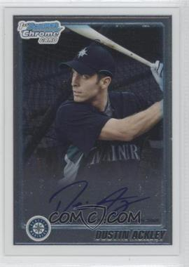 2010 Bowman Chrome Prospects Autographs [Autographed] #BCP89 - Dustin Ackley
