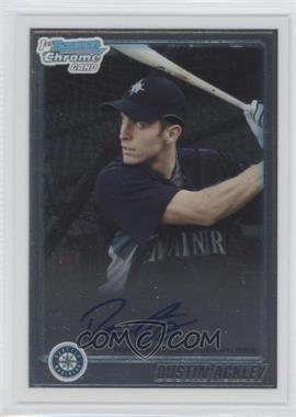 2010 Bowman Chrome Prospects Autographs [Autographed] #BCP89 - Dustin Ackley
