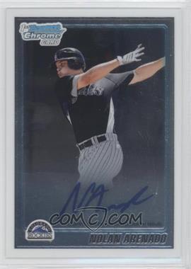 2010 Bowman Chrome Prospects Autographs [Autographed] #BCP91 - Nolan Arenado
