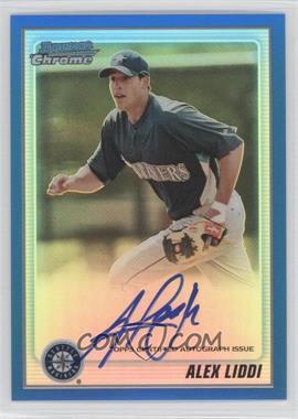 2010 Bowman Chrome Prospects Blue Refractor Autographs [Autographed] #BCP182 - Alex Liddi /150