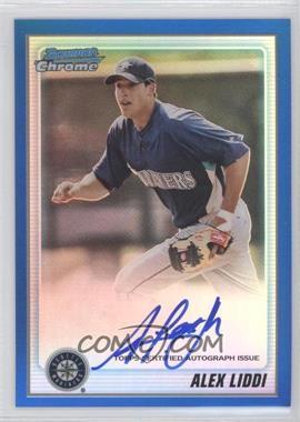 2010 Bowman Chrome Prospects Blue Refractor #BCP182 - Alex Liddi /150