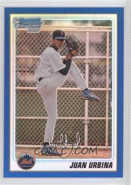 2010 Bowman Chrome Prospects Blue Refractor #BCP220 - Juan Uribe /150