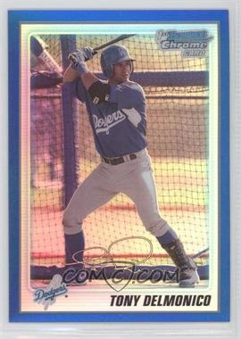 2010 Bowman Chrome Prospects Blue Refractor #BCP50 - Tommy Dean /250