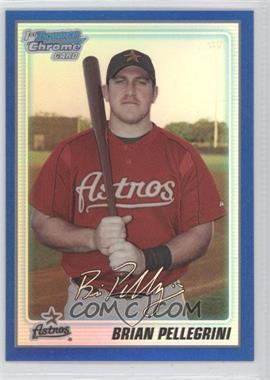 2010 Bowman Chrome Prospects Blue Refractor #BCP65 - Brian Pellegrini /250