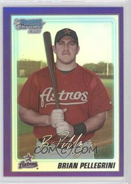 2010 Bowman Chrome Prospects Purple Refractor #BCP65 - Brad Peacock /999
