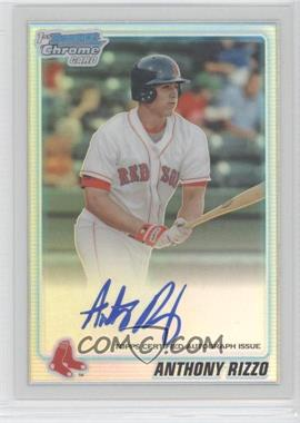 2010 Bowman Chrome Prospects Refractor Autographs [Autographed] #BCP101 - Anthony Rizzo /500