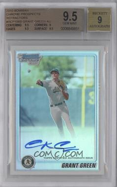 2010 Bowman Chrome Prospects Refractor Autographs [Autographed] #BCP106 - Grant Green /500 [BGS 9.5]