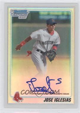 2010 Bowman Chrome Prospects Refractor Autographs [Autographed] #BCP108 - Jose Iglesias /500