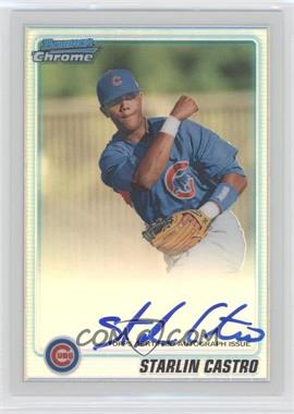 2010 Bowman Chrome Prospects Refractor #BCP100 - Starlin Castro /500