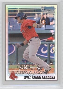 2010 Bowman Chrome Prospects Refractor #BCP179 - Will Middlebrooks /500