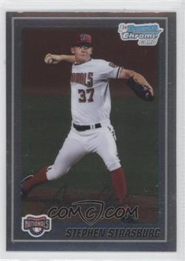 2010 Bowman Chrome Prospects #BCP1 - Stephen Strasburg