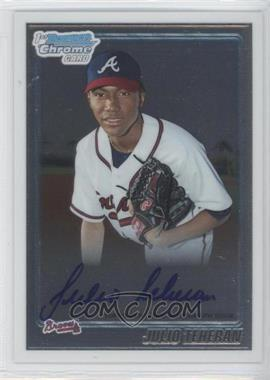 2010 Bowman Chrome Prospects #BCP105.2 - Julio Teheran (Autograph)