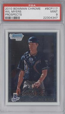 2010 Bowman Chrome Prospects #BCP117 - Wil Myers [PSA 9]