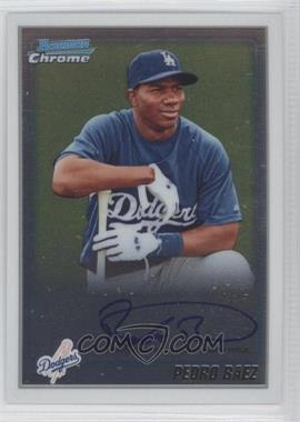 2010 Bowman Chrome Prospects #BCP190.2 - Pedro Baez (Autograph)