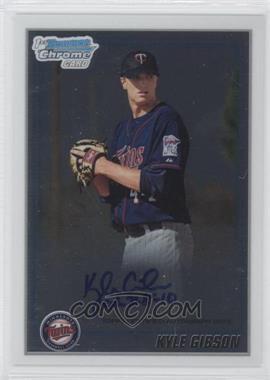 2010 Bowman Chrome Prospects #BCP202.2 - Kyle Gibson (Autograph)