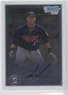 2010 Bowman Chrome Prospects #BCP205.2 - Miguel Sano (Autograph)