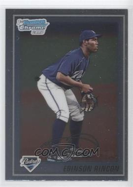 2010 Bowman Chrome Prospects #BCP39 - Edinson Rincon