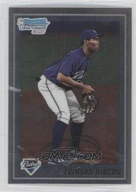 2010 Bowman Chrome Prospects #BCP39 - Edinson Rincon