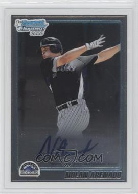 2010 Bowman Chrome Prospects #BCP91 - Nolan Arenado