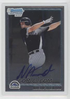 2010 Bowman Chrome Prospects #BCP91.2 - Nolan Arenado (Autograph)