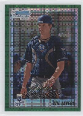 2010 Bowman Chrome Retail Prospects Green X-Fractor #BCP117 - Wil Myers