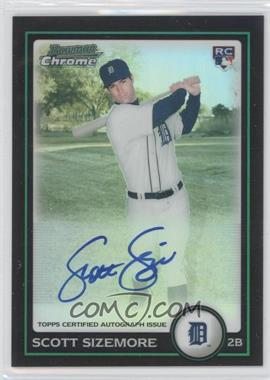 2010 Bowman Chrome Rookie Autographs Refractor #199 - Scott Sizemore /500