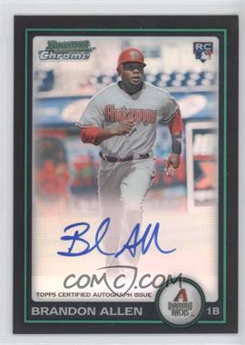 2010 Bowman Chrome Rookie Autographs Refractor #213 - Brandon Allen /500