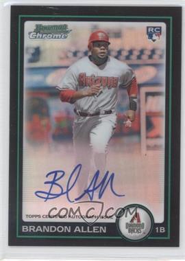 2010 Bowman Chrome Rookie Autographs Refractor #213 - Brandon Allen /500